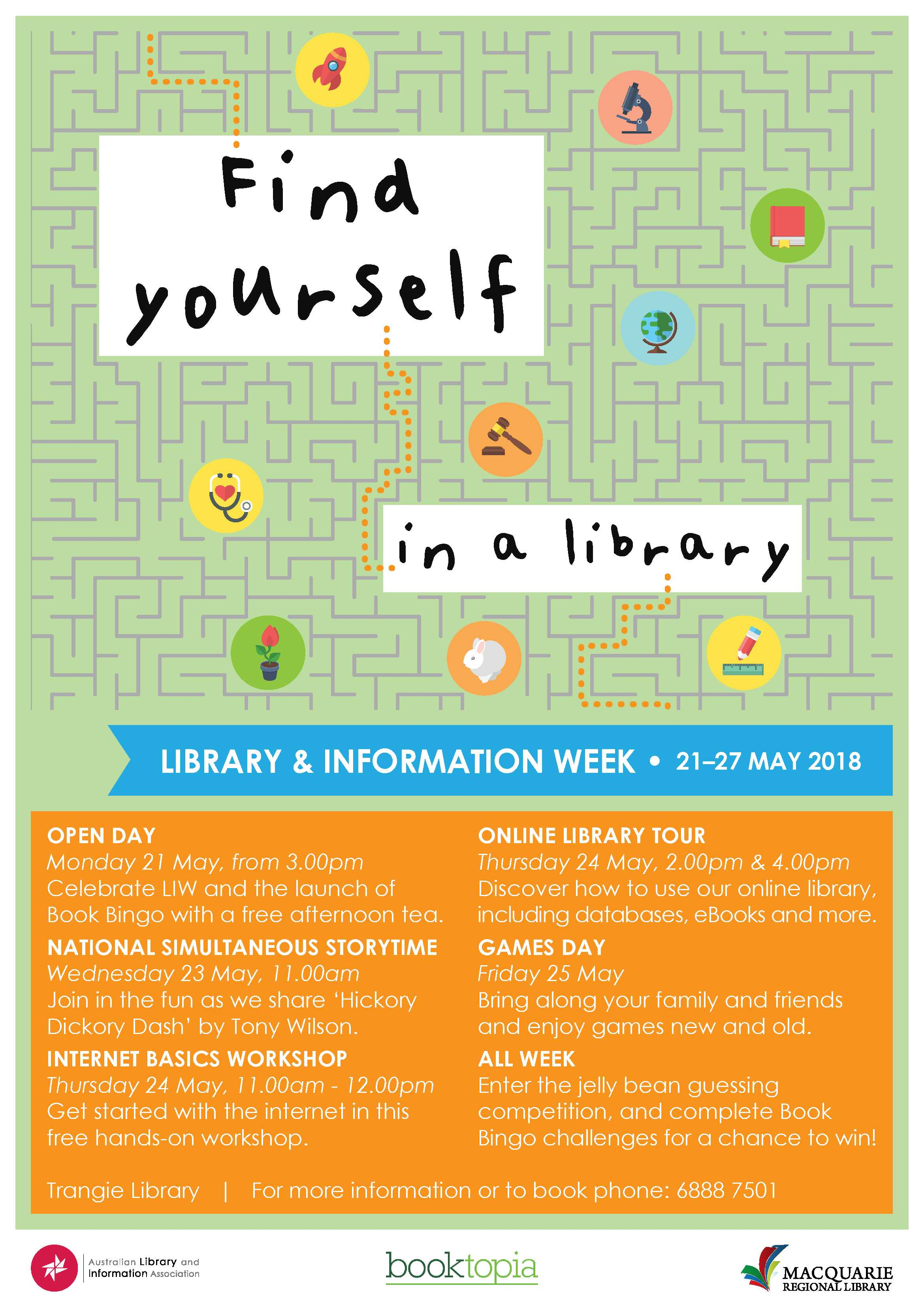 Library and Information Week - Online Library Tour - Trangie