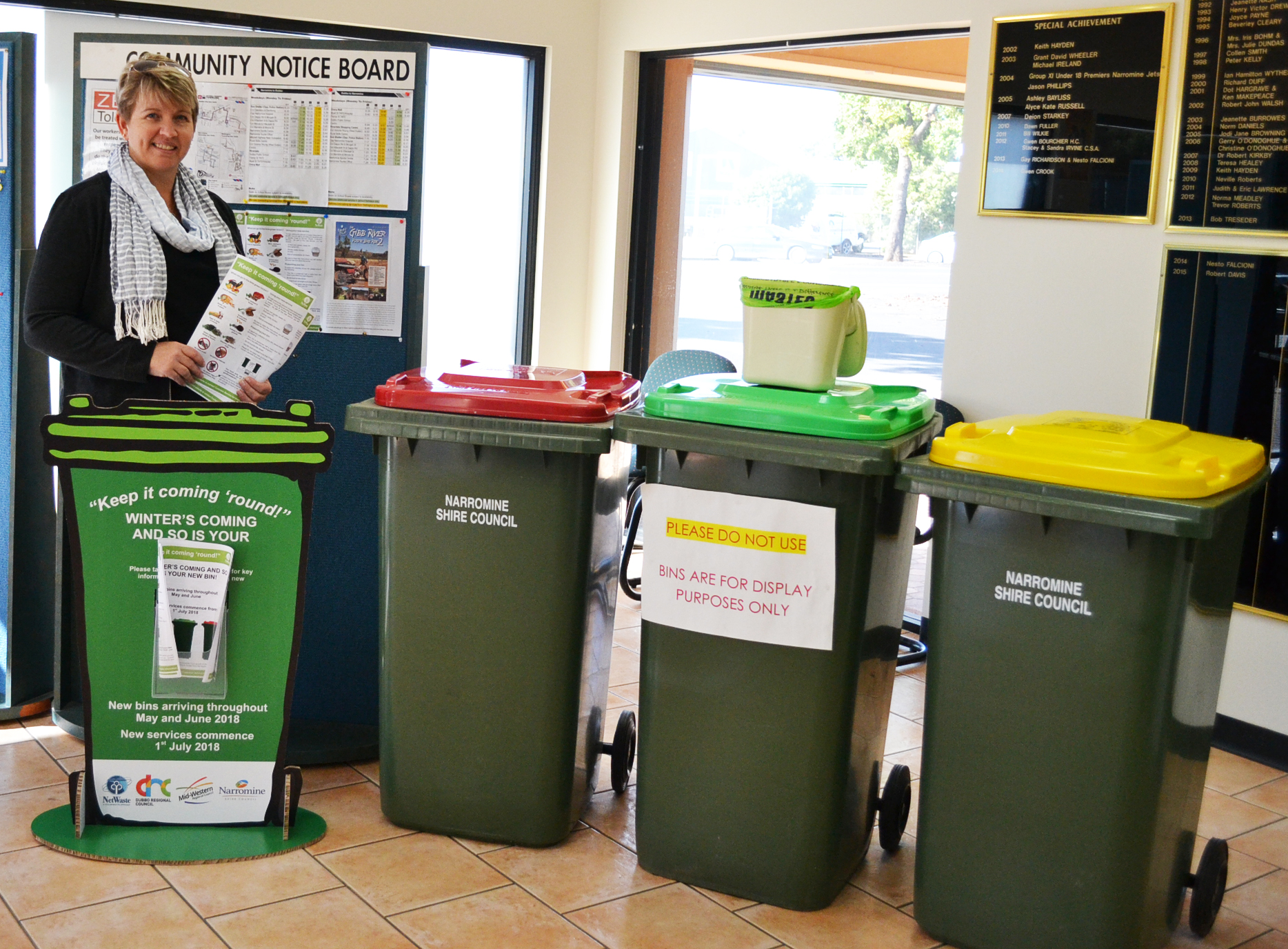 How to use the new food and garden waste bin