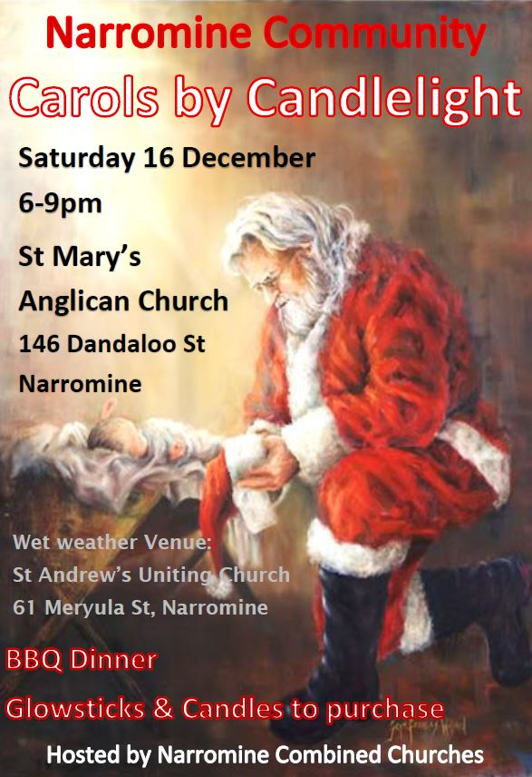 Narromine Community Carols by Candlelight