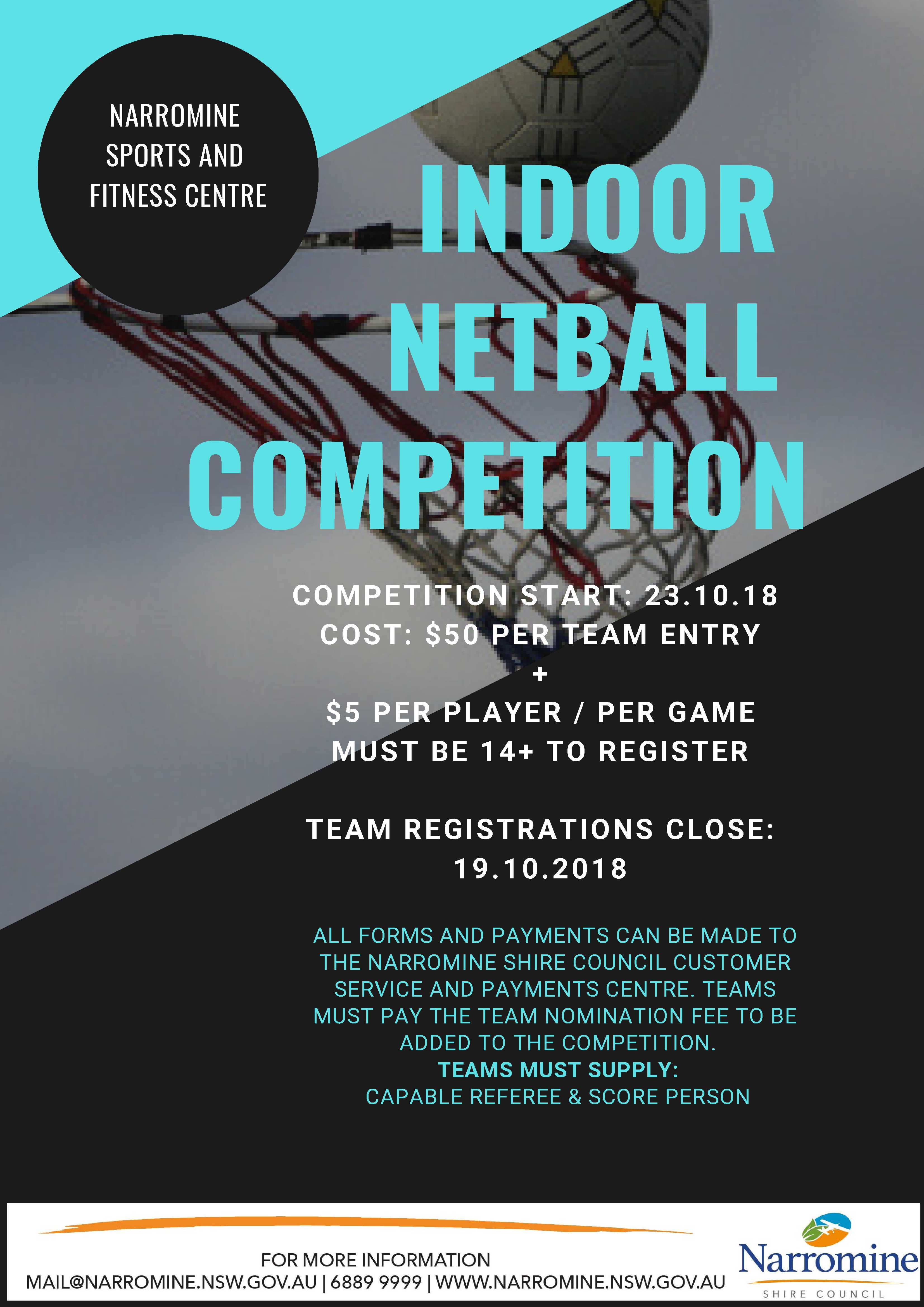 Indoor Netball Competition