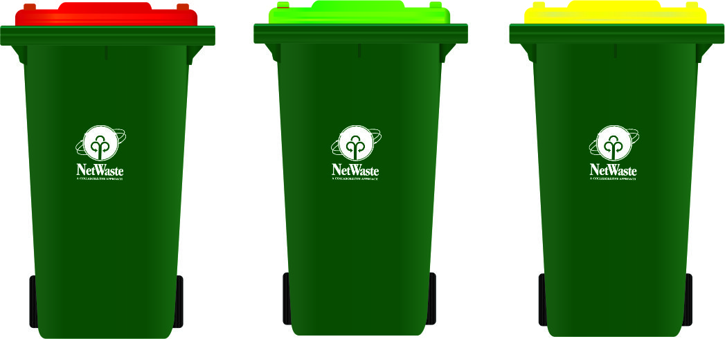 Green lidded bin service commencing this week